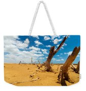 Dead Trees In A Desert Wasteland Weekender Tote Bag