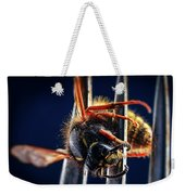 Dead Wasp On A Fork Weekender Tote Bag