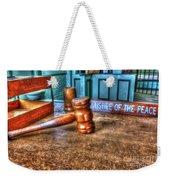 Dealing Justice Weekender Tote Bag