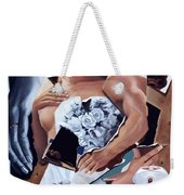 Death Due Us Parts Weekender Tote Bag