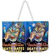 Death Takes A Redux Weekender Tote Bag