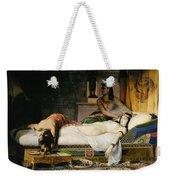 Death Of Cleopatra Weekender Tote Bag