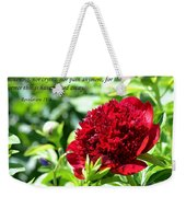 Death Shall Be No More Weekender Tote Bag