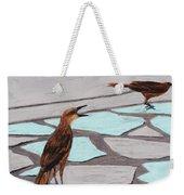 Death Valley Birds Weekender Tote Bag by Anastasiya Malakhova