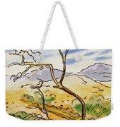 Death Valley- California Sketchbook Project Weekender Tote Bag