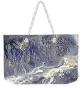 Death Valley From Outer Space Weekender Tote Bag