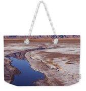 Death Valley Salt Stream 1-h Weekender Tote Bag