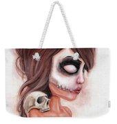 Deathlike Skull Impression Weekender Tote Bag