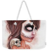 Deathlike Skull Impression Weekender Tote Bag