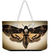 Deaths Head Hawk Moth Framed Version Weekender Tote Bag