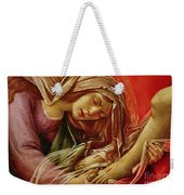 Deatil From The Lamentation Of Christ Weekender Tote Bag