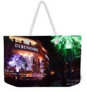 Debenhams Bournemouth At Christmas Weekender Tote Bag