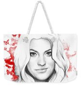 Debra Morgan - Dexter Weekender Tote Bag