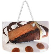 Decadent Delight Dessert  Weekender Tote Bag