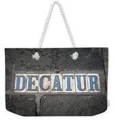 Decatur Weekender Tote Bag