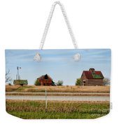 Decaying Farm Central Il Weekender Tote Bag