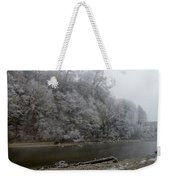 December Morning On The River Weekender Tote Bag