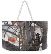 December Snow Weekender Tote Bag