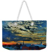 December Sunrise In Annapolis Weekender Tote Bag