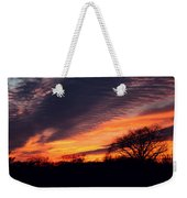 December Sunset Weekender Tote Bag