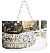 Deck Cat Weekender Tote Bag