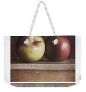 Deco Apples Weekender Tote Bag