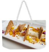 Deconstructed Cheesecake Weekender Tote Bag