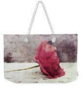 Decor Poppy Horizontal Weekender Tote Bag by Priska Wettstein