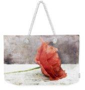 Decor Poppy Red Weekender Tote Bag