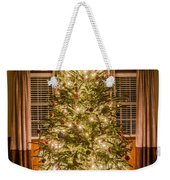 Decorated Christmas Tree Weekender Tote Bag