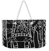 Decorated Elephant Weekender Tote Bag
