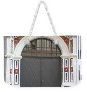 Decorated Old Door Weekender Tote Bag