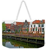 Decorations For Orange Day To Celebrate The Queen's Birthday In Enkhuizen-netherlands Weekender Tote Bag