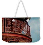 Decorative Balcony Weekender Tote Bag