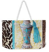 Decorative Bathroom Bath Art Original Perfume Bottle Painting Luxe Perfume By Madart Weekender Tote Bag