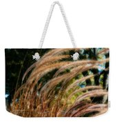 Decorative Grass Wind Autumn And Orton Weekender Tote Bag
