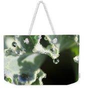 Decorative Kale With Dew Weekender Tote Bag