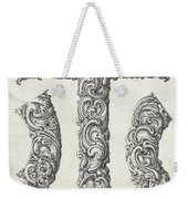Decorative Letter Type T 1650 Weekender Tote Bag