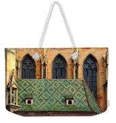 Decorative Roof Weekender Tote Bag