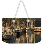 Deep Bay Weekender Tote Bag