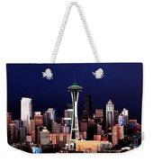 Deep Blue Sky Weekender Tote Bag