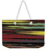 Deep Color Field Weekender Tote Bag