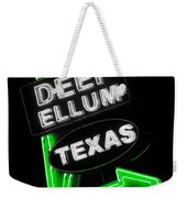 Deep Ellum In Green Weekender Tote Bag
