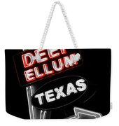 Deep Ellum In Red Weekender Tote Bag