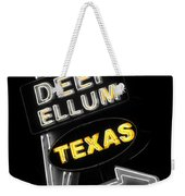 Deep Ellum In Yellow Weekender Tote Bag