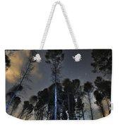 Deep Forest At Night Weekender Tote Bag