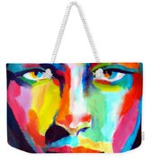 Deep Gaze Weekender Tote Bag