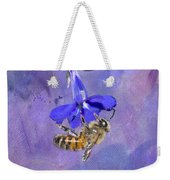 Deep In Purple Weekender Tote Bag