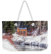 Deep Snow In Spearfish Canyon Weekender Tote Bag