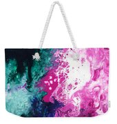 Deep Space Canvas Three Weekender Tote Bag